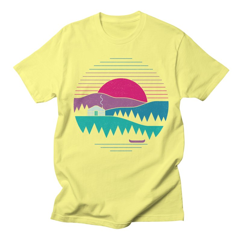 Back to Basics Men's T-Shirt by thepapercrane's shop