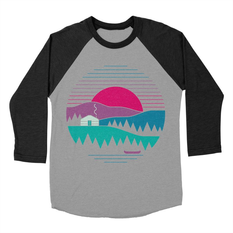 Back to Basics Men's Baseball Triblend T-Shirt by thepapercrane's shop