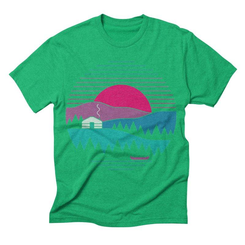 Back to Basics Men's Triblend T-shirt by thepapercrane's shop