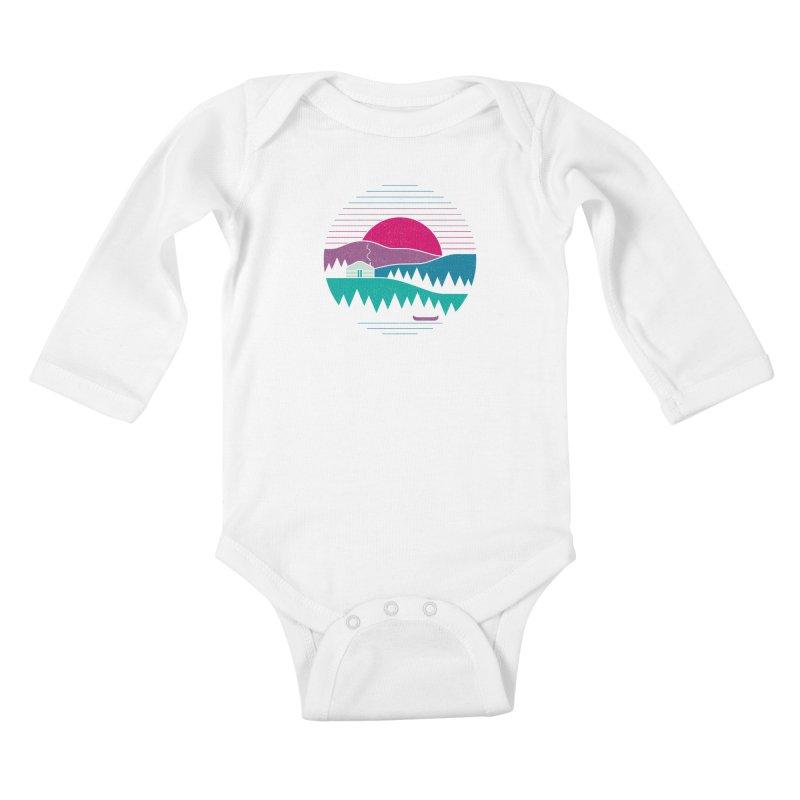 Back to Basics Kids Baby Longsleeve Bodysuit by thepapercrane's shop