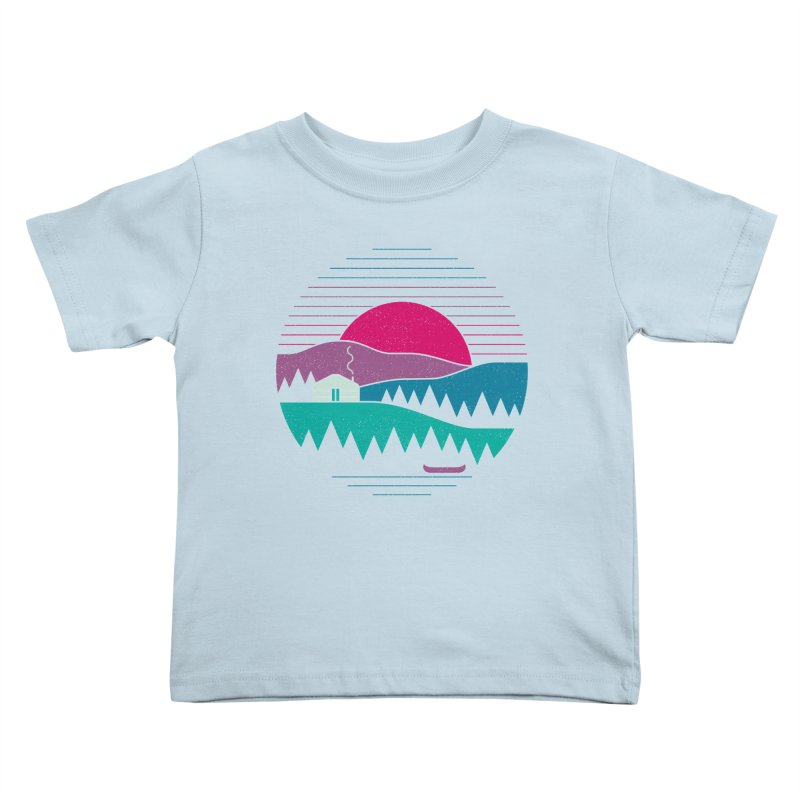 Back to Basics Kids Toddler T-Shirt by thepapercrane's shop