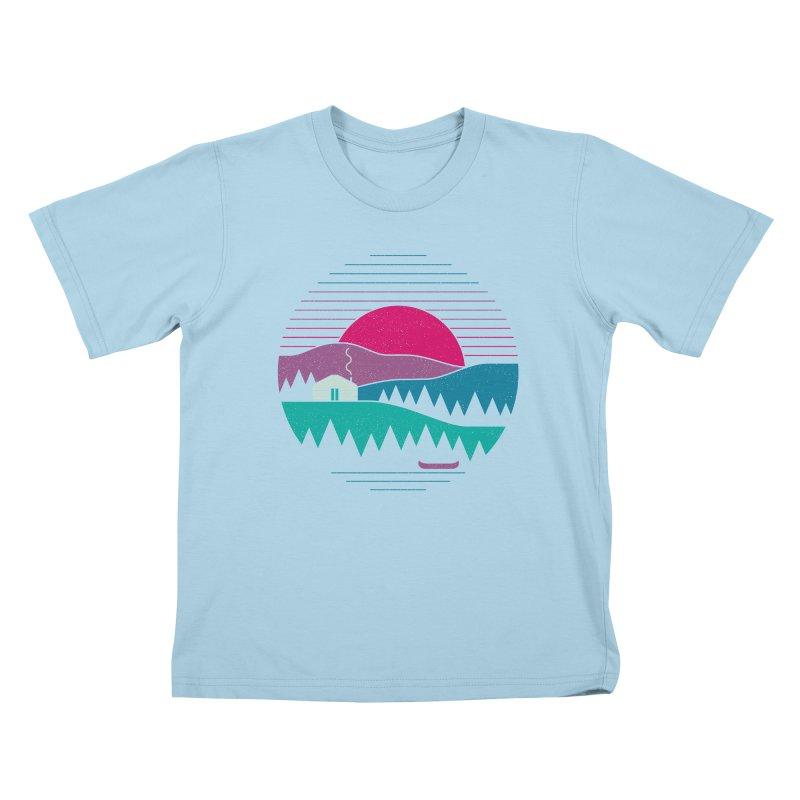 Back to Basics Kids T-shirt by thepapercrane's shop