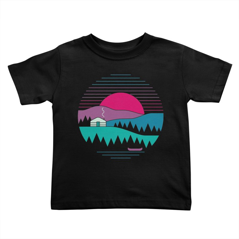 Back to Basics Kids Toddler T-Shirt by thepapercrane's shop