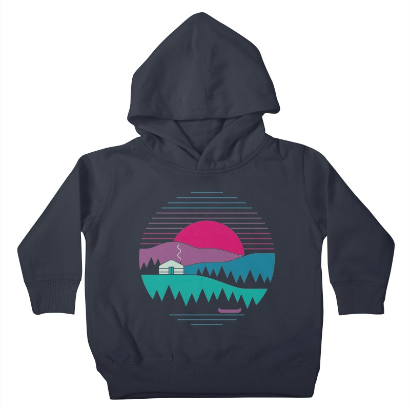 Back to Basics Kids Toddler Pullover Hoody by thepapercrane's shop