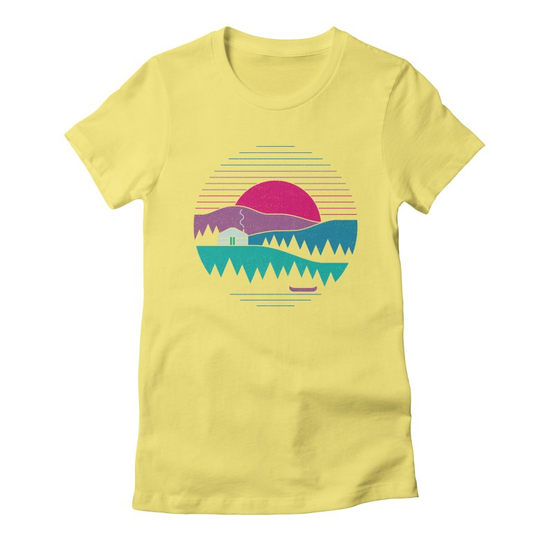Back to Basics Women's Fitted T-Shirt by thepapercrane's shop