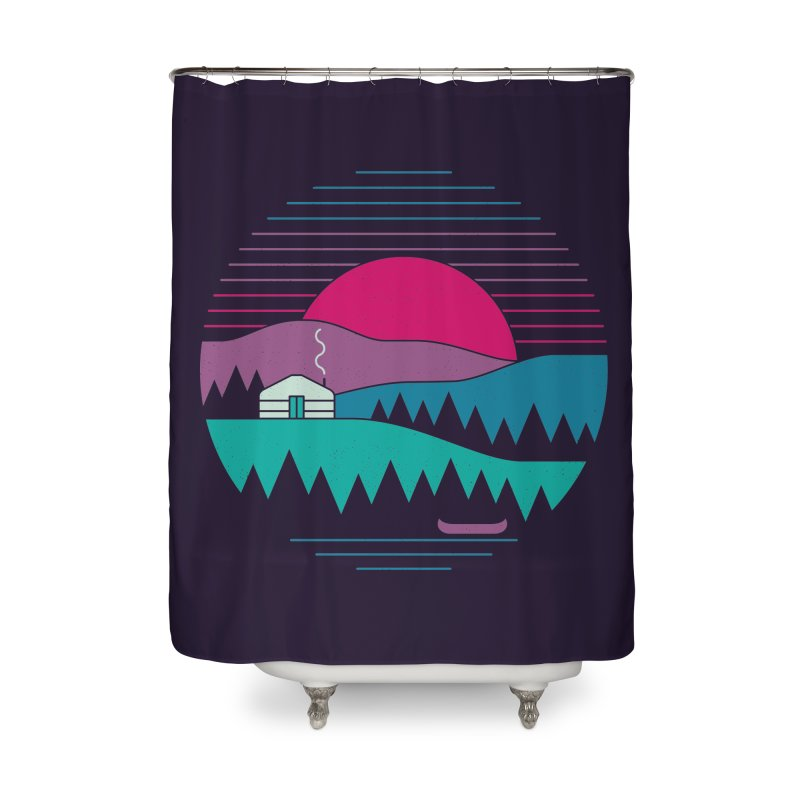 Back to Basics Home Shower Curtain by thepapercrane's shop