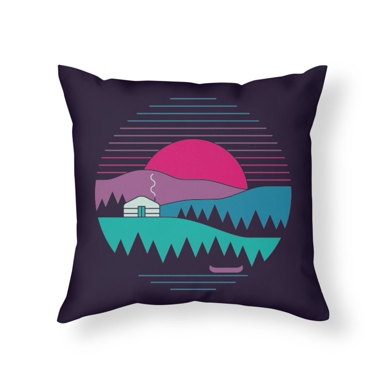 Back to Basics Home Throw Pillow by thepapercrane's shop