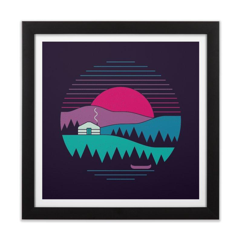 Back to Basics Home Framed Fine Art Print by thepapercrane's shop