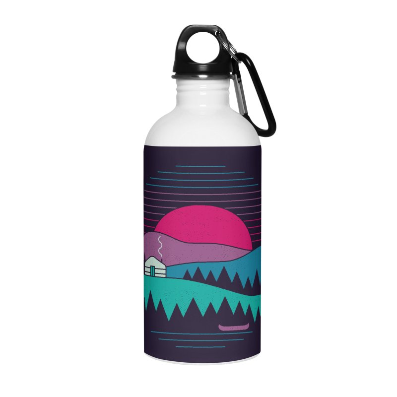 Back to Basics Accessories Water Bottle by thepapercrane's shop