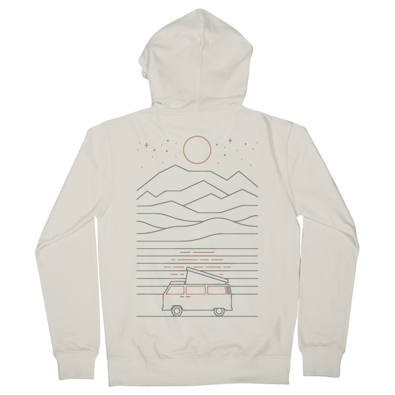Van Life Women's Zip-Up Hoody by thepapercrane's shop