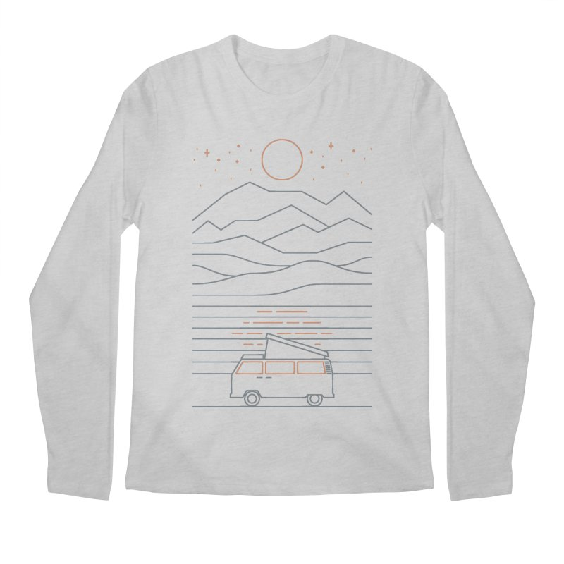 Van Life Men's Regular Longsleeve T-Shirt by thepapercrane's shop