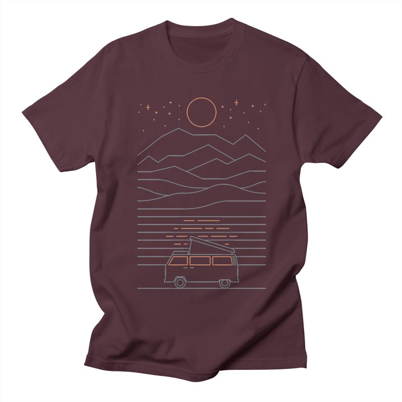 Van Life Men's Regular T-Shirt by thepapercrane's shop