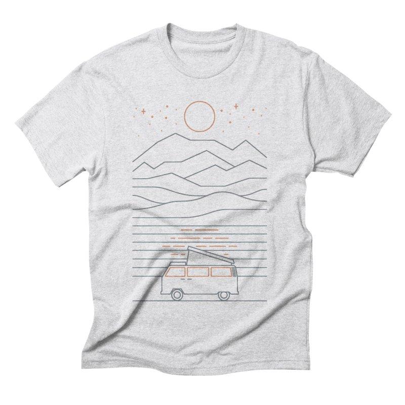 Van Life Men's Triblend T-Shirt by thepapercrane's shop