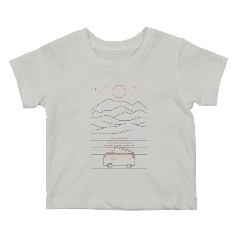Van Life Kids Baby T-Shirt by thepapercrane's shop