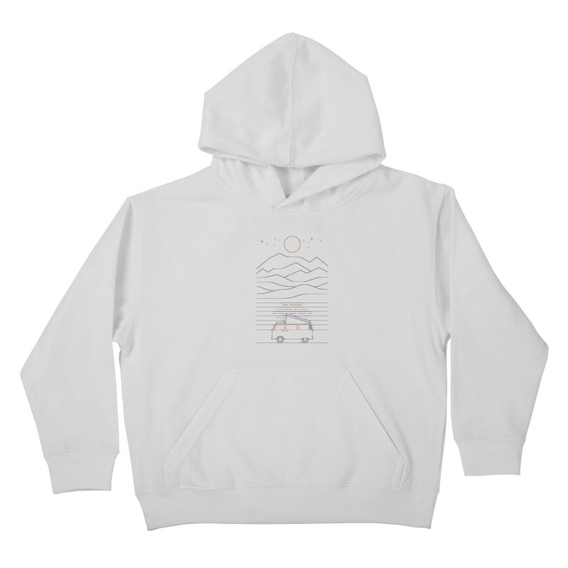 Van Life Kids Pullover Hoody by thepapercrane's shop
