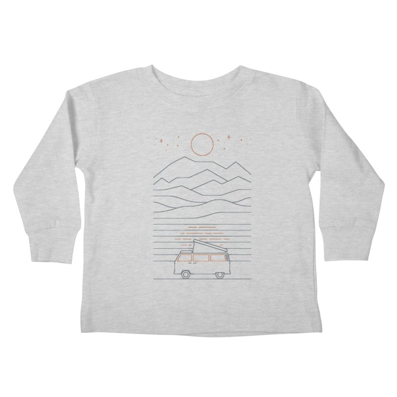 Van Life Kids Toddler Longsleeve T-Shirt by thepapercrane's shop