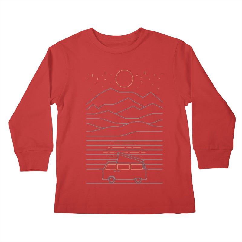 Van Life Kids Longsleeve T-Shirt by thepapercrane's shop