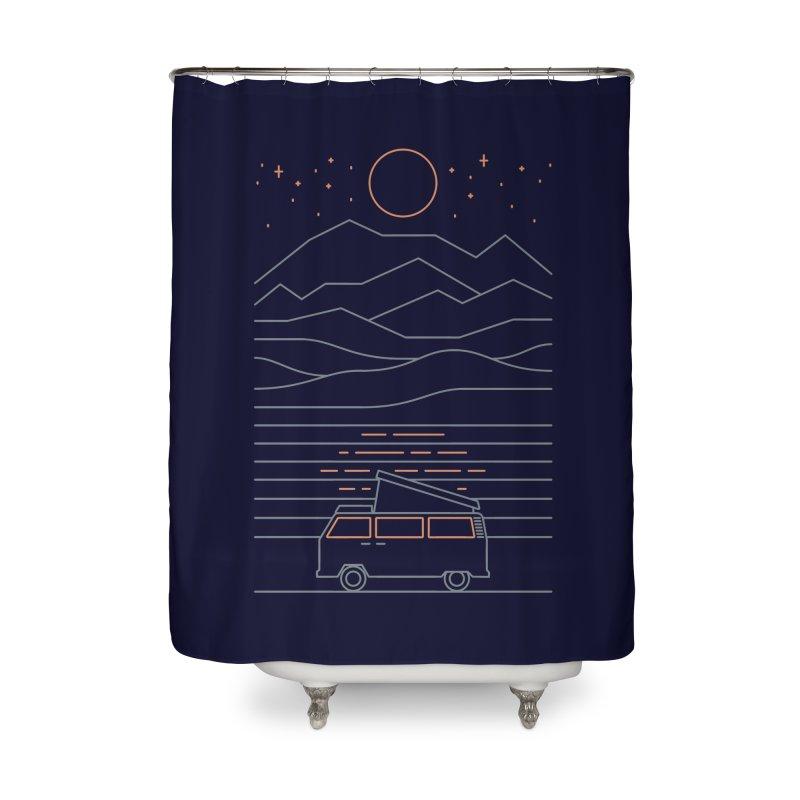 Van Life Home Shower Curtain by thepapercrane's shop