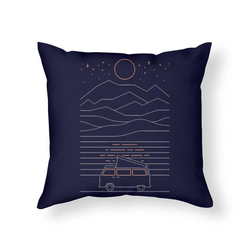 Van Life Home Throw Pillow by thepapercrane's shop
