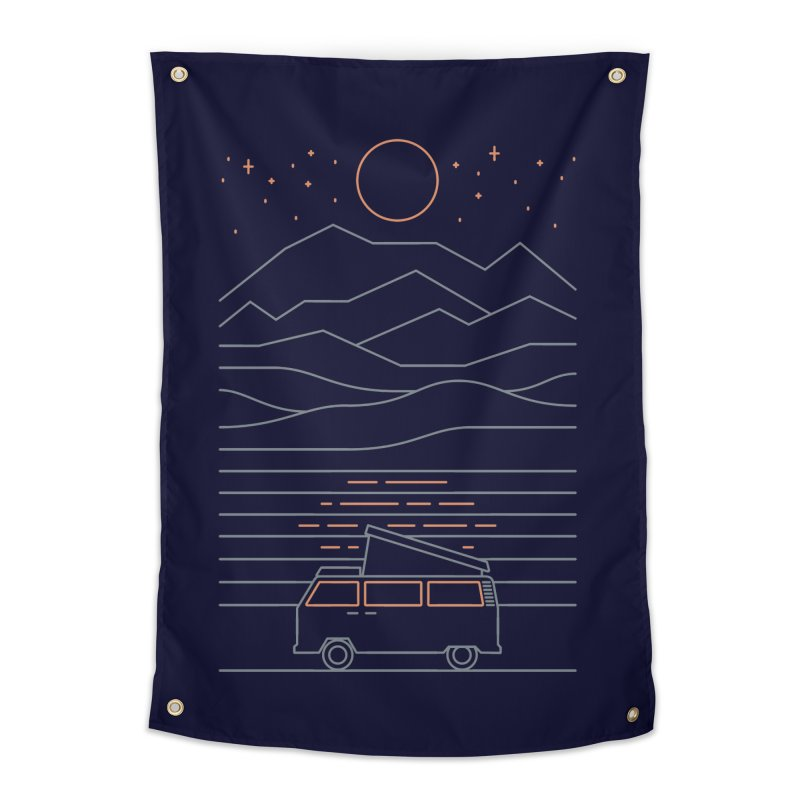 Van Life Home Tapestry by thepapercrane's shop
