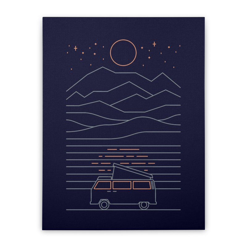 Van Life Home Stretched Canvas by thepapercrane's shop