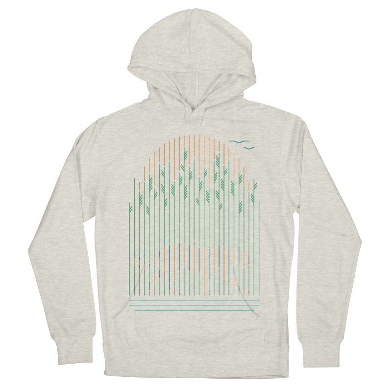 Tiger In The Grass Women's Pullover Hoody by thepapercrane's shop