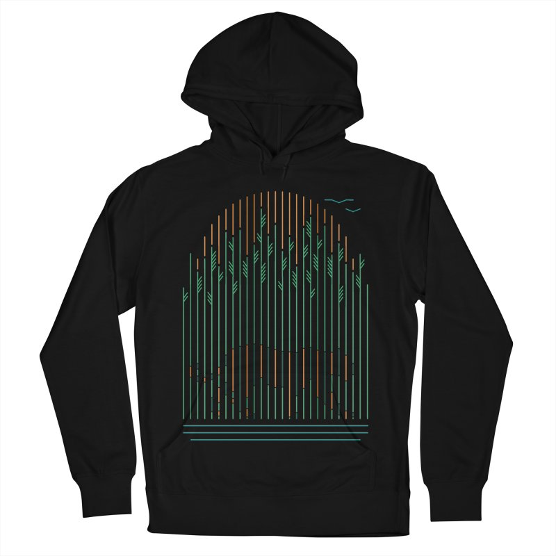 Tiger In The Grass Men's Pullover Hoody by thepapercrane's shop