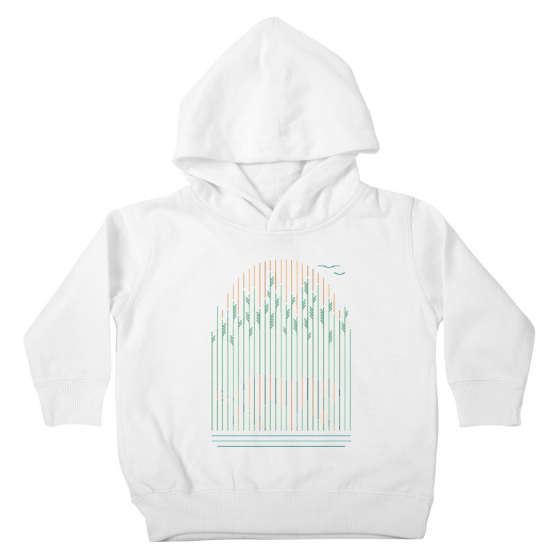 Tiger In The Grass Kids Toddler Pullover Hoody by thepapercrane's shop