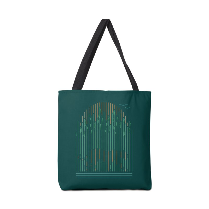Tiger In The Grass Accessories Tote Bag Bag by thepapercrane's shop