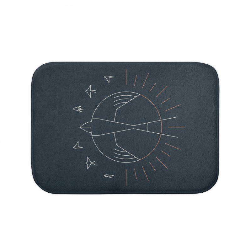Swallow The Sun Home Bath Mat by thepapercrane's shop