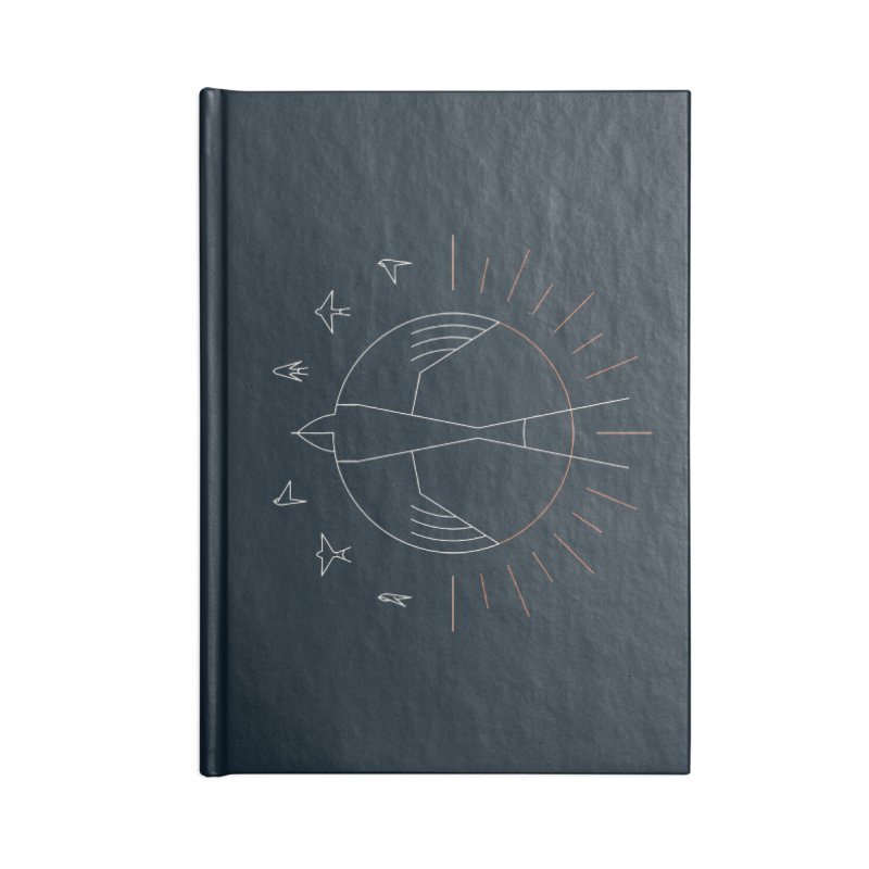 Swallow The Sun Accessories Notebook by thepapercrane's shop