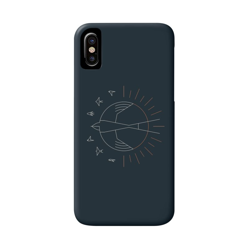Swallow The Sun Accessories Phone Case by thepapercrane's shop