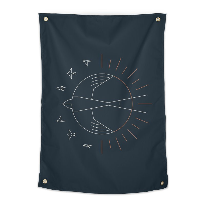 Swallow The Sun Home Tapestry by thepapercrane's shop
