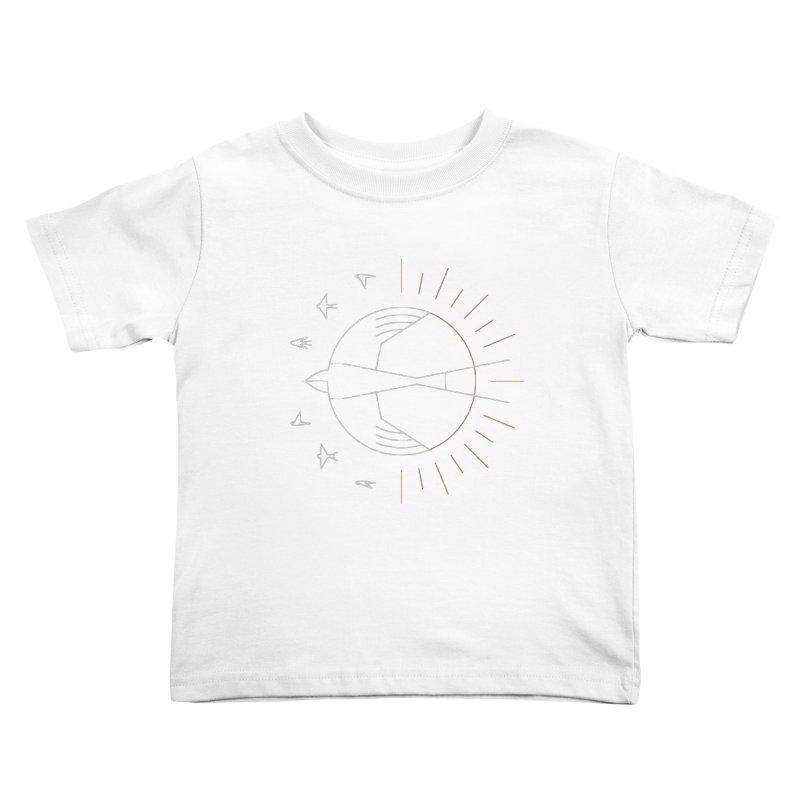 Swallow The Sun Kids Toddler T-Shirt by thepapercrane's shop