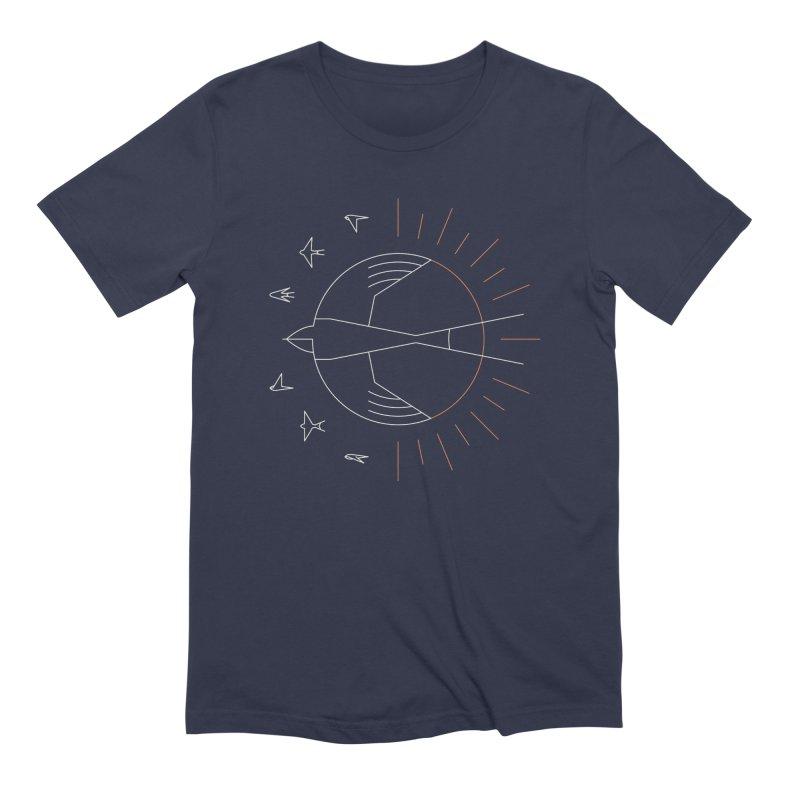 Swallow The Sun Men's Extra Soft T-Shirt by thepapercrane's shop