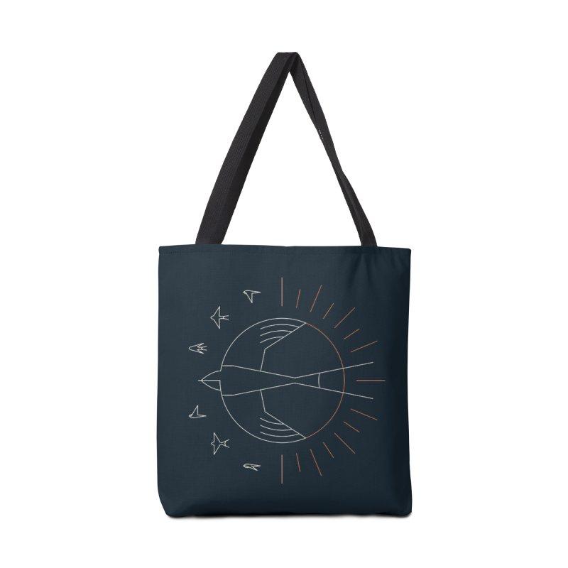 Swallow The Sun Accessories Bag by thepapercrane's shop
