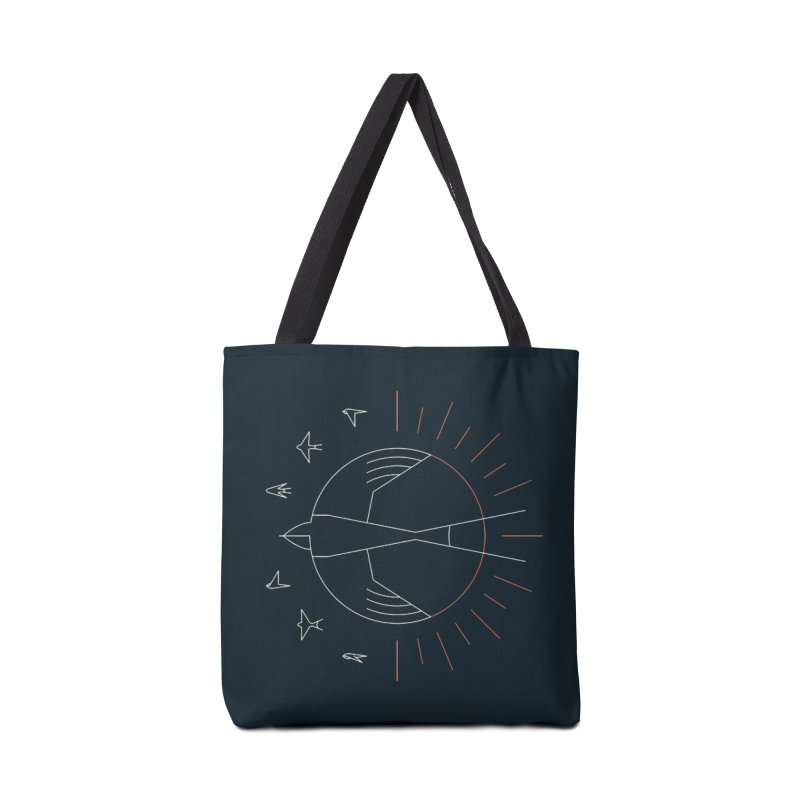 Swallow The Sun Accessories Tote Bag Bag by thepapercrane's shop