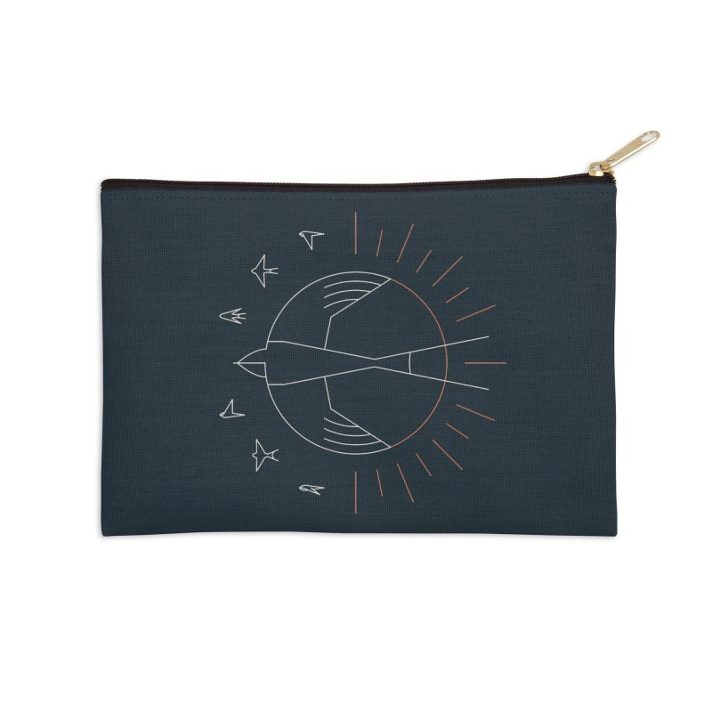 Swallow The Sun Accessories Zip Pouch by thepapercrane's shop