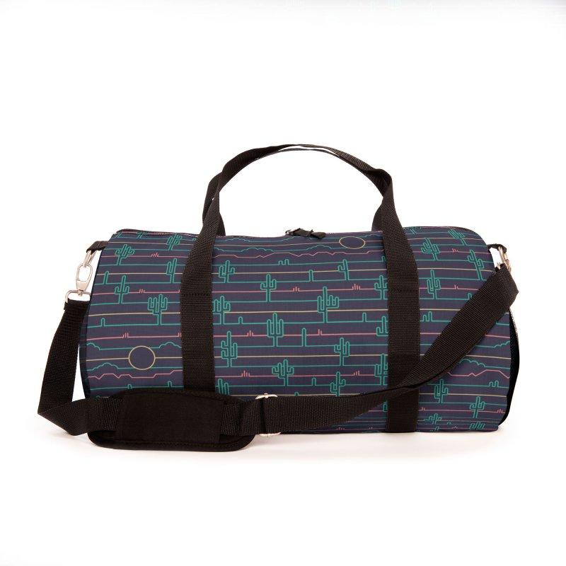 Saguaro Sunrise Accessories Bag by thepapercrane's shop