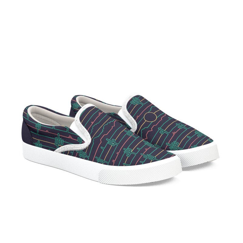 Saguaro Sunrise Men's Shoes by thepapercrane's shop