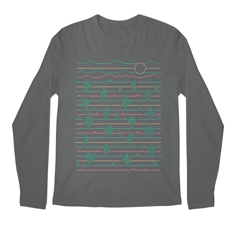 Saguaro Sunrise Men's Longsleeve T-Shirt by thepapercrane's shop