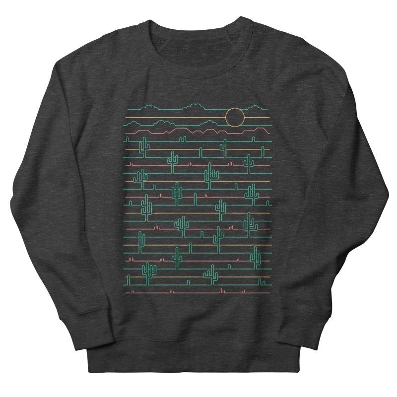 Saguaro Sunrise Men's French Terry Sweatshirt by thepapercrane's shop