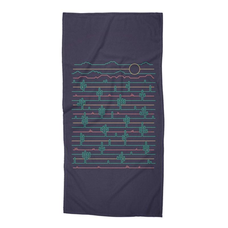Saguaro Sunrise Accessories Beach Towel by thepapercrane's shop