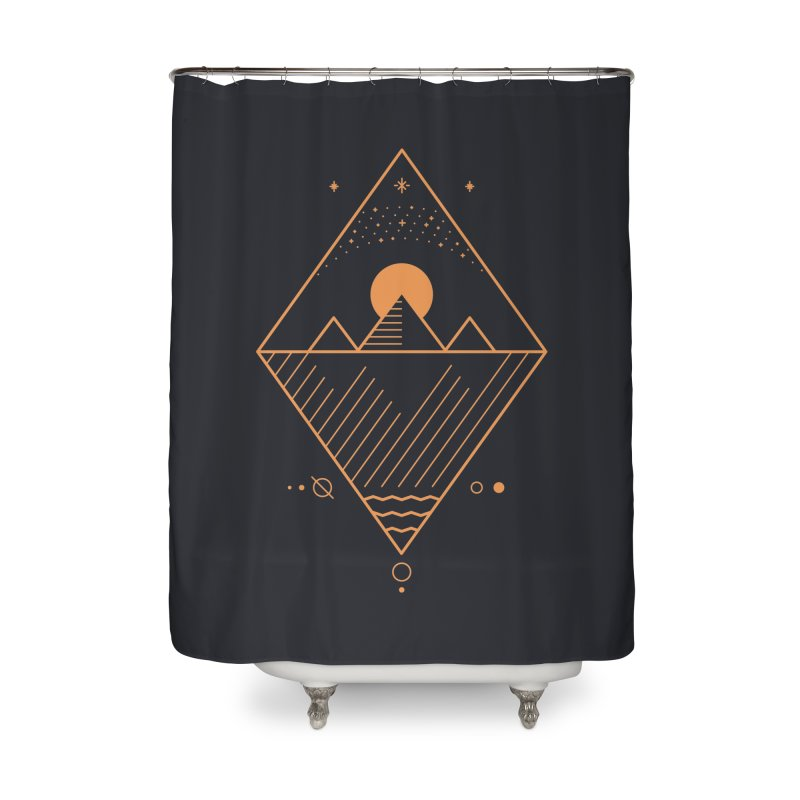 Osiris Home Shower Curtain by thepapercrane's shop