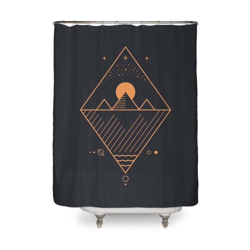 Osiris Home Shower Curtain by thepapercrane's shop