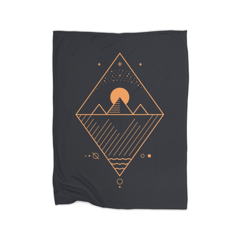 Osiris Home Fleece Blanket by thepapercrane's shop