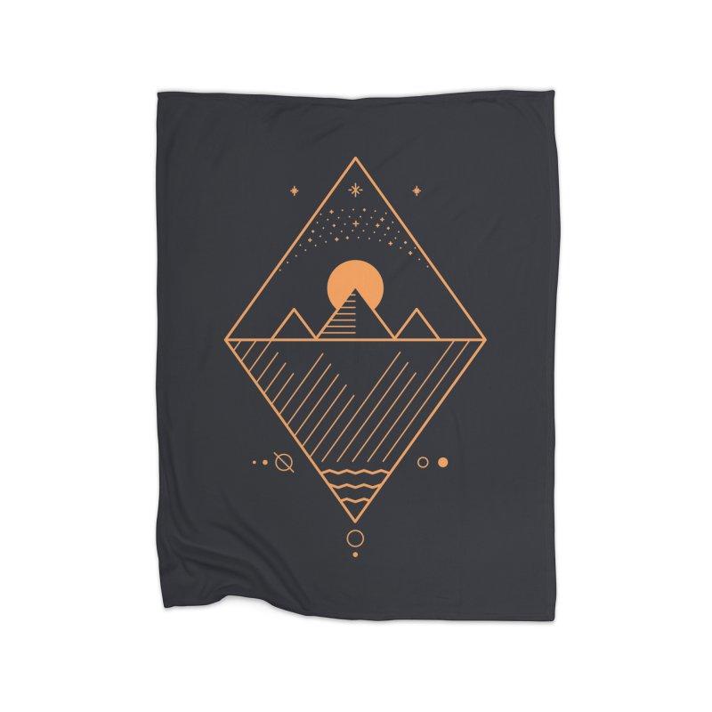 Osiris Home Fleece Blanket Blanket by thepapercrane's shop