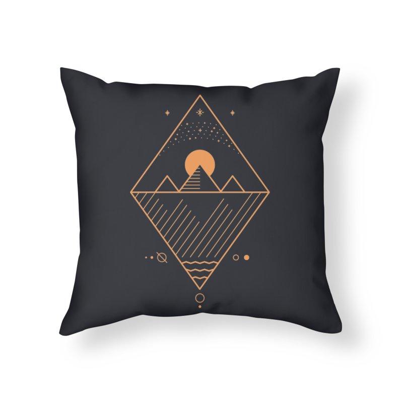 Osiris Home Throw Pillow by thepapercrane's shop