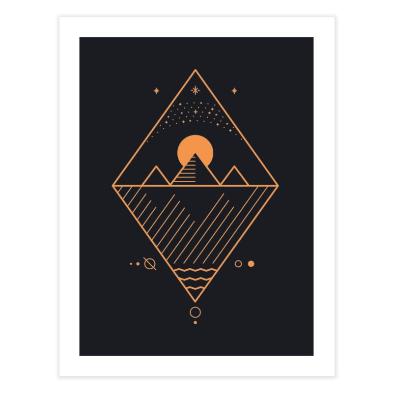 Osiris Home Fine Art Print by thepapercrane's shop