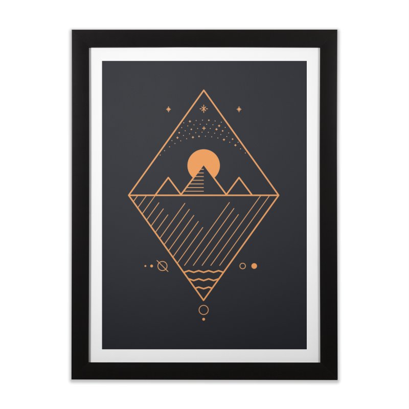 Osiris Home Framed Fine Art Print by thepapercrane's shop
